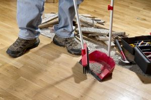Construction cleanup company