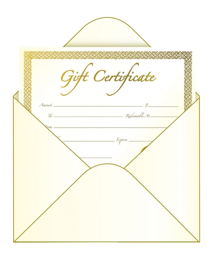 Cleaning Gift Certificate Template Roho4senses